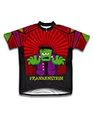 Frankenstein Short Sleeve Cycling Jersey for Women