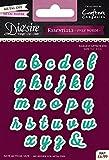 Crafter's Companion Die'sire Essentials únicas Palabras - Set Abecedario Minusculas