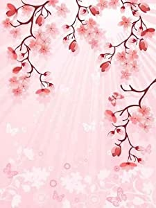 Amazon.com - Japanese Cherry Blossom Wall Decal - 18 Inches H x 14