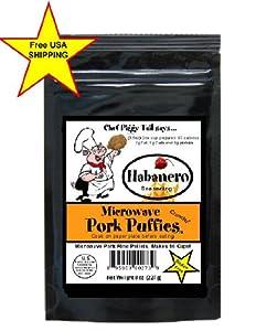 Microwave Pork Rinds Habanero Flavor 8 Oz Pkg Gluten Free