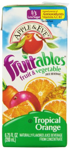 Apple & Eve Fruitables, Tropical Orange, 8 Count (Pack Of 5) front-818054