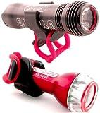 Exposure Joystick Mk.7 Front Bike Light Plus Handlebar Mount & Flare
