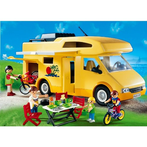 Playmobil 3647 les loisirs famille camping car - Rangement pour playmobil ...