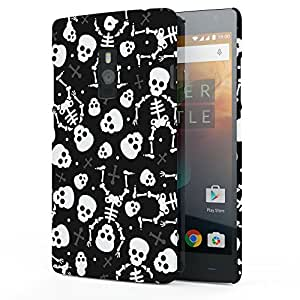 Koveru Designer Printed Protective Back Shell Case Cover for OnePlus 2 - Mexican Skulls