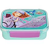 Disney Sofia The First Rectangular Shaped Lunch Box, BPA Free, 400ml, Multi-color