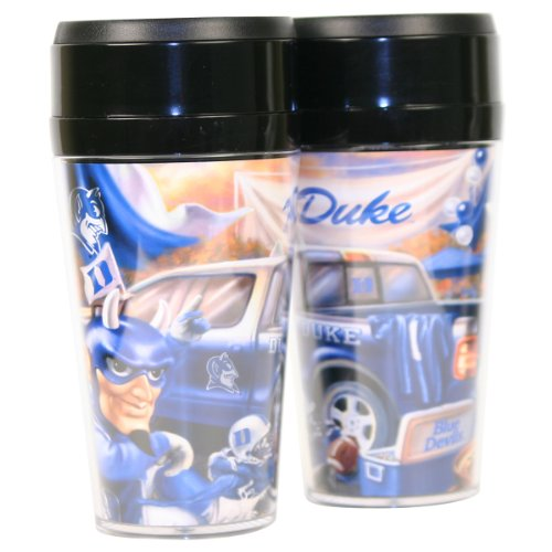 NCAA 12oz Full Color Tailgate Travel Mug - Duke Blue Devils at Amazon.com