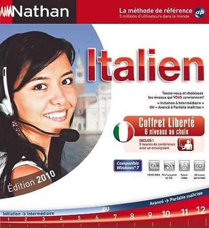 Nathan Italien coffret liberté - édition 2010