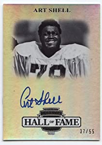 Art Shell Oakland Raiders Autographed 2012 Press Pass Hall of Fame Trading Card... by Press Pass