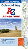 img - for Cotswold Way Adventure Atlas 1:25K A-Z (A-Z Adventure Atlas) book / textbook / text book