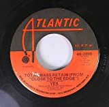 YES 45 RPM America / Total Mass Retain