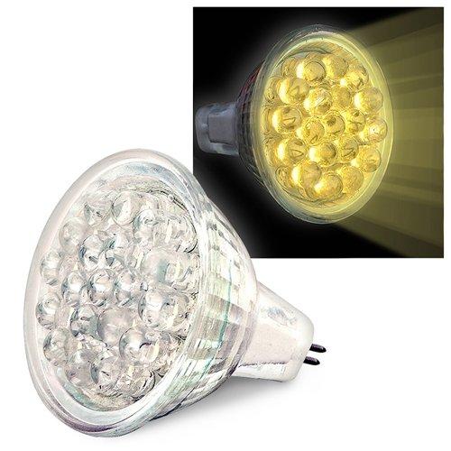 Eforcity® Mr11 Warm White Light Bulb, 19 Led 0.9W