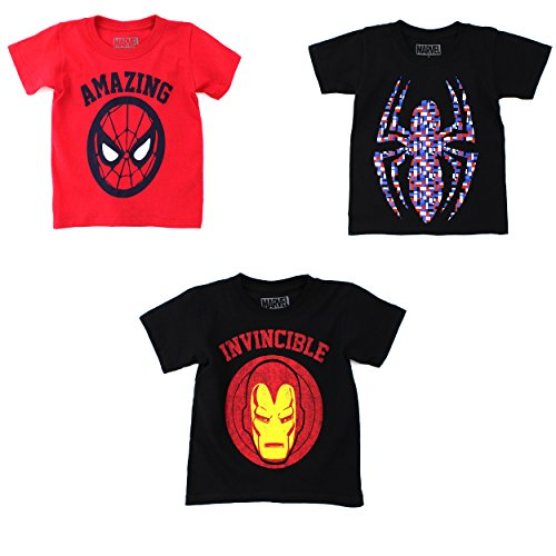 Marvel Comics Heroes Boys T-Shirt