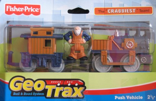 Geo Trax Raid & Road System: Cranks & Mr. Cross The