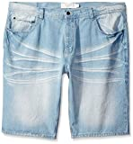 Akademiks Mens Big-Tall Big and Tall Storm Denim Short