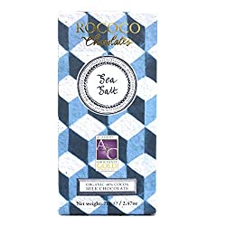 Sea Salt Organic Milk Chocolate Artisan Bar