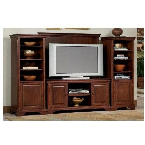 Entertainment centers home styles lafayette lcd plasma Home entertainment center