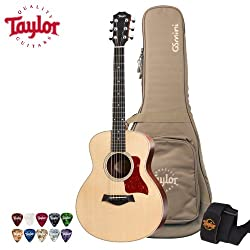 Taylor Guitars Limited Edition GS Mini Rosewood Reduced Scale Grand Symphony Acoustic Guitar with Taylor Padded Gig Bag, Strap & Picks