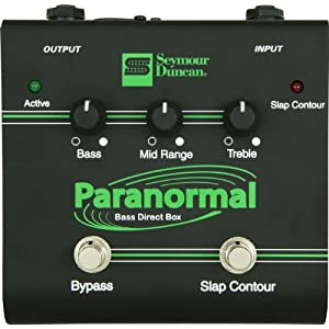 Nice deal on the Seymour Duncan SFX-06 Paranormal Bass EQ Direct Box