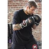 REVGEAR PLATNIUM LEATHER BOXING MMA GLOVES 16 OZ