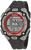 Armitron Men's 408190RED Sport Red Accented Digital Chronograph Watch from Armitron
