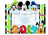 2014 Float Stripe Disney Picture Frame Mickey Goofy Donald Pluto