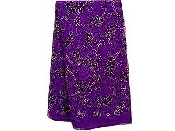 Inhika Women's Kurti Fabric (Inhika_30_Purple Gold)