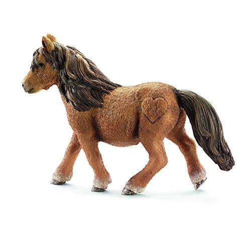 Schleich Shetland Pony Mare Toy Figure - 1