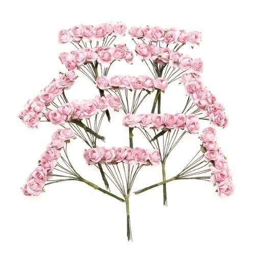 sodialr-144-stk-mini-papier-rose-hochzeit-blumen-fuer-handwerk-hochzeitsbevorzugungskasten-rosa