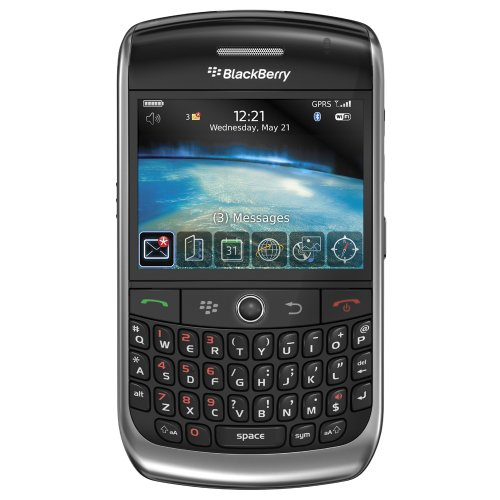 BlackBerry Curve 8900 Javelin Unlocked Phone with 3.2 MP Camera, GPS Navigation, Stereo Bluetooth, and MicroSD Slot–International Version with No Warranty (Black)