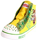 Ed Hardy Gleam Sneaker (Toddler/Little Kid),Yellow-11FGL102T,9 M US Toddler
