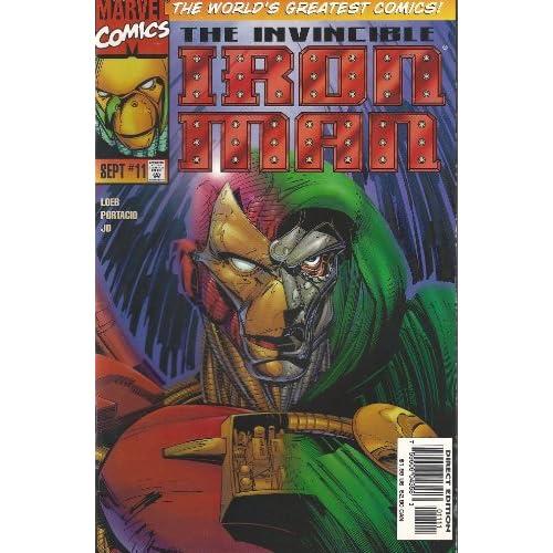 Marvel Comics the Invincible Iron Man Vol.2 No.11 RUBEN DIAZ Books