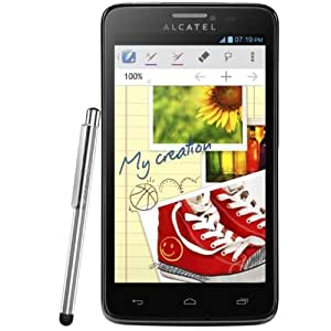 Alcatel One Touch Scribe Easy 8000 - Smartphone libre (Android 4.1 Jelly Bean, Bluetooth, Wi-Fi) (importado)