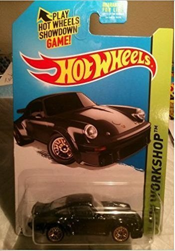 2015 Hot Wheels Custom Real Riders Hw Workshop - Porsche 934 Turbo RSR (Black)