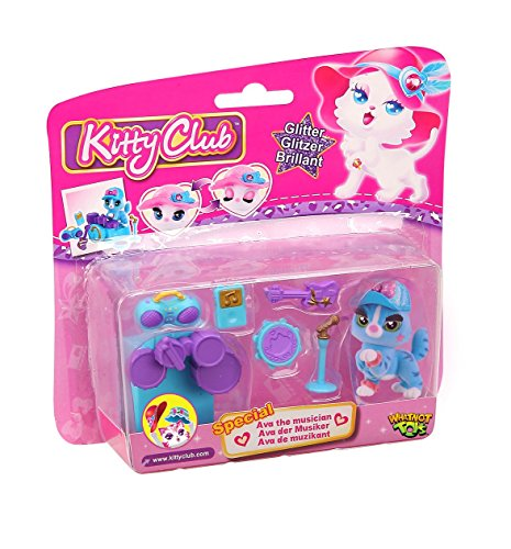 Kitty-Club-Figurine-and-7-Accessories-with-Trading-Card
