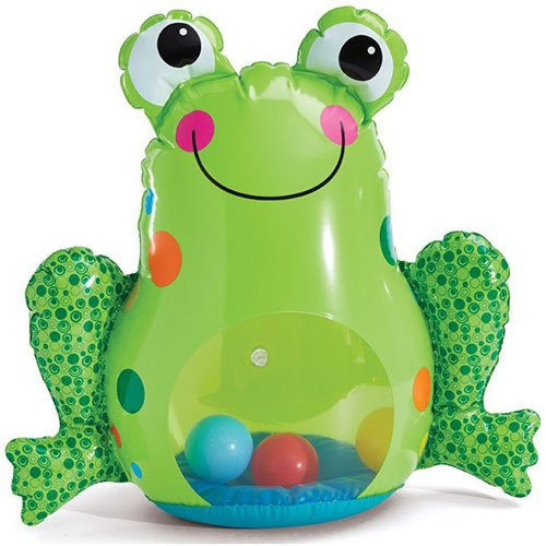 Earlyears Inflatable Froggy Roly Poly Baby Toy