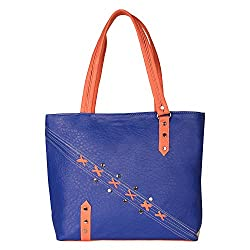 Glory Fashion Women's Stylish Handbag Blue-GF-195