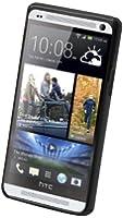 Muvit MUBMC0030 Housse avec Film de Protection d'écran pour HTC One Noir