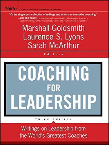 Coaching for Leadership (J-B US Non-Franchise Leadership)