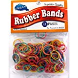 Dream Rubber Bands 300's Assort Bag (Pack of 24)