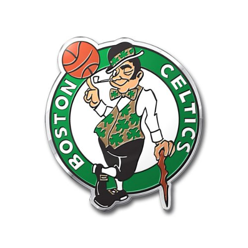 Boston Celtics NBA Aluminum Metal Full Color Emblem