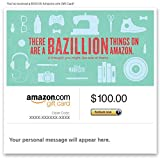 Amazon Gift Card - Email - One in a Bazillion