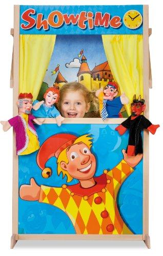 Eichhorn Puppet Theater Booth - juguetes de rol para niños (Puppet theatre, Cualquier género, Multicolor, Madera, Imagen, Europa)