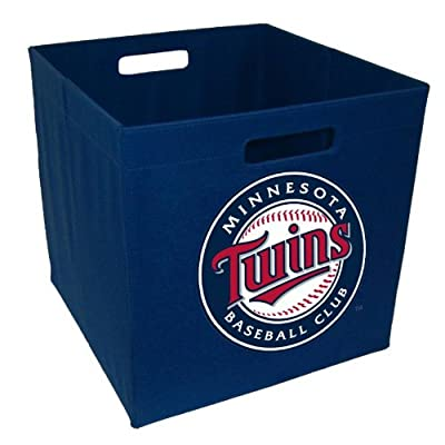 MLB Minnesota Twins 12-Inch Storage Cube