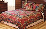 Bria Full / Queen Quilt with 2 Shams