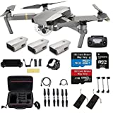 DJI Mavic Pro Platinum With 2 Extra Batteries, Professional Case and More (Color: Platinum with 2 Batteries, Tamaño: Mavic Pro Platinum)