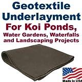 10' x 20' Geotextile Underlayment & Landscape Fabric