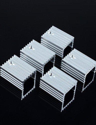 XMQC*Il dissipatore di calore 15 * 10 * 20mm / A-220 transistori ed altri (5pz.)