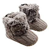 Tongshi Beb� cargadores de la nieve suave Cuna Zapatos Botas ni�o (13cm)