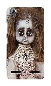 CimaCase Scary Doll Designer 3D Printed Case Cover For Lenovo A6000