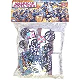54mm Civil War Wagon & Union/ Confederate Figure Playset (Bagged) by Americana Souvenirs ~ Americana Souvenirs